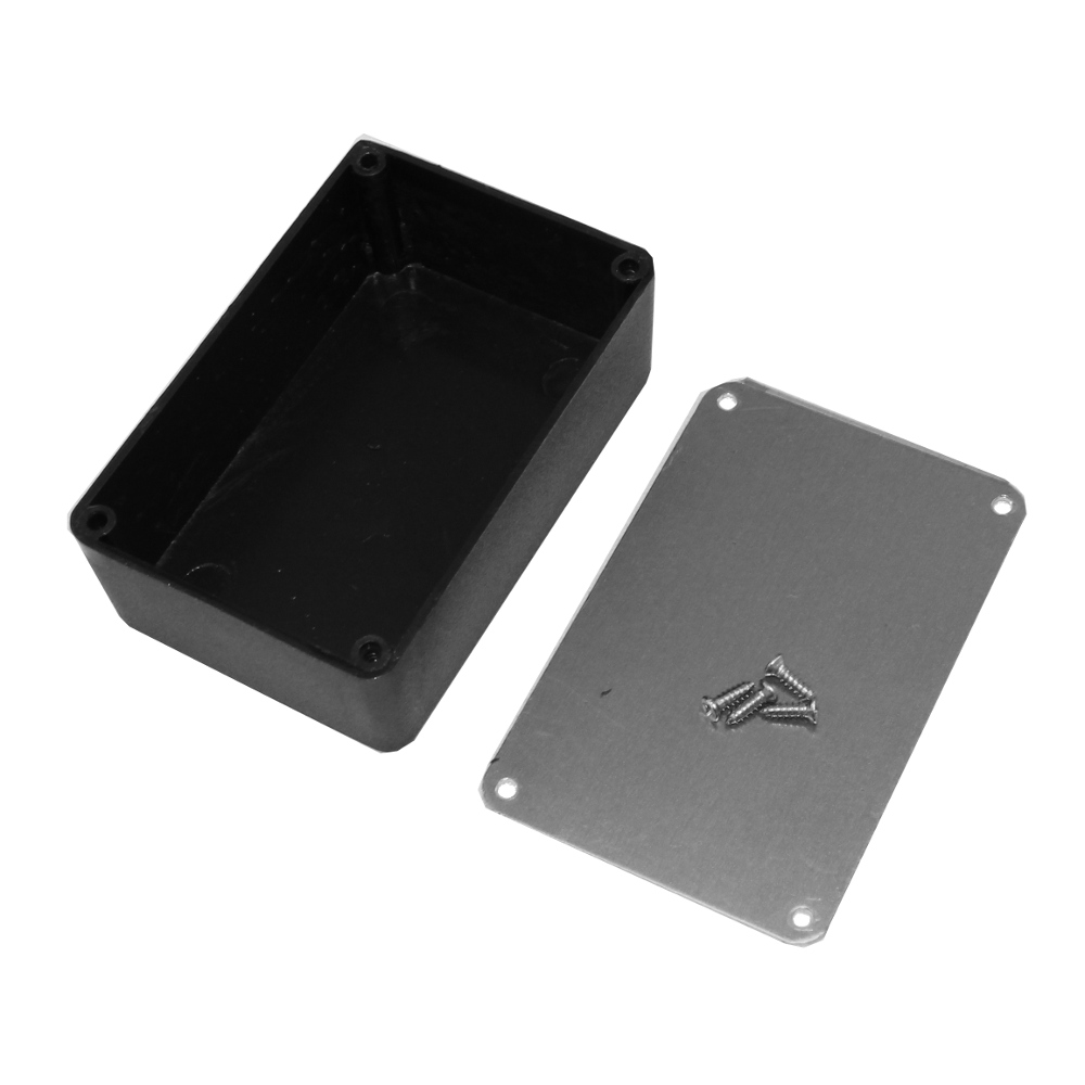 Plastic Project Box with Aluminum Lid 3