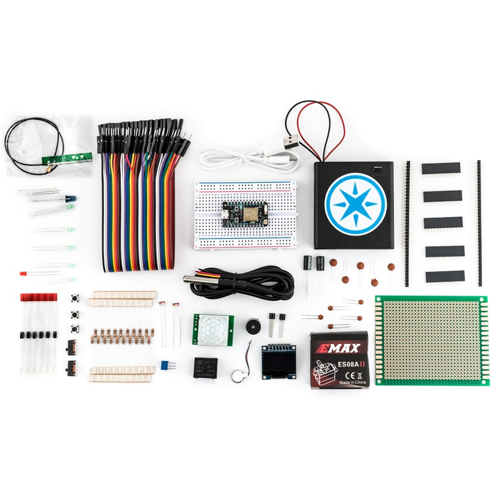 MAKER KIT - THE ULTIMATE KIT FOR SERIOUS MAKERS! IN  ADDITION TO ELECTRONICS ESSENTIALS,