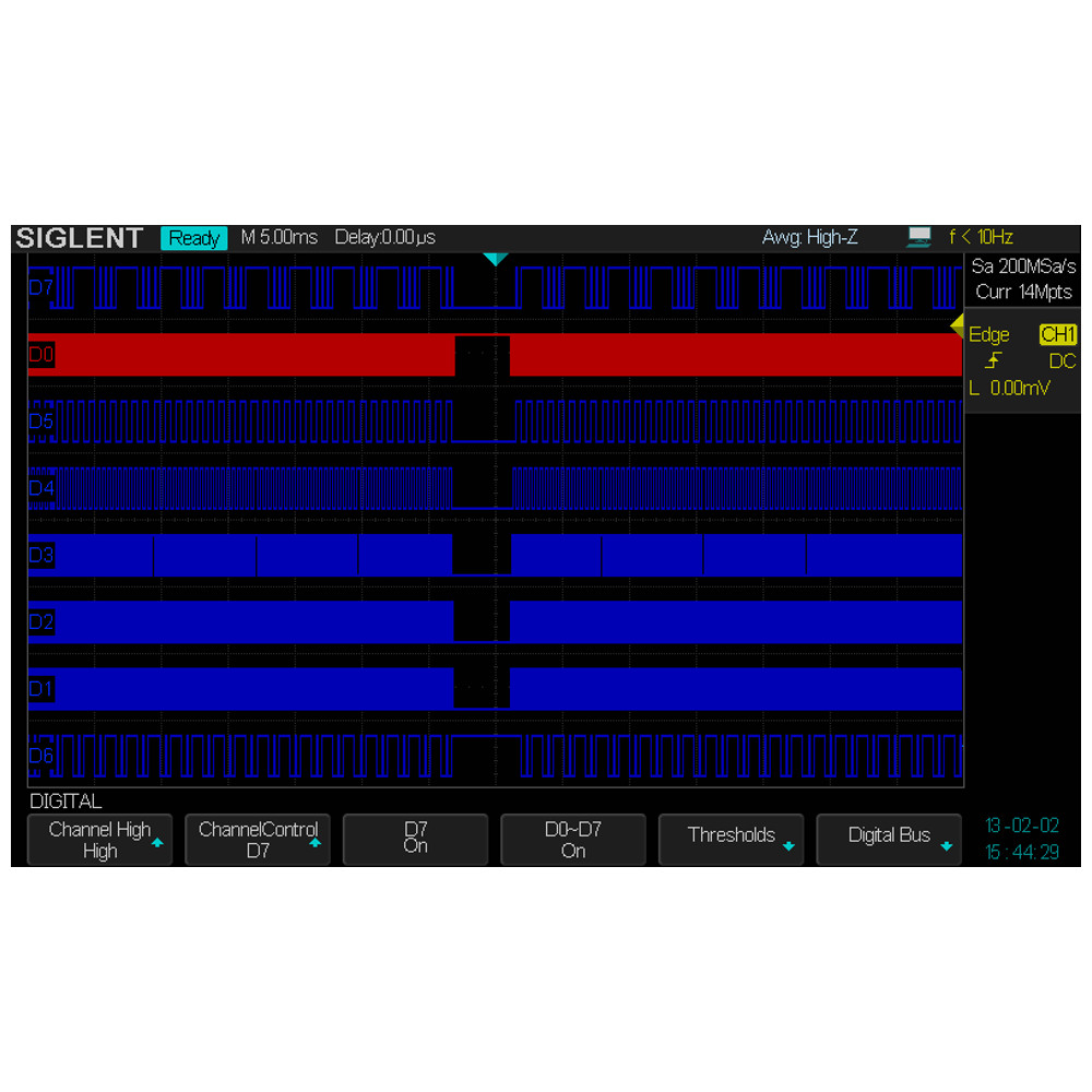 MSO FUNCTION SOFTWARE FOR SDS2000X OSCILLOSCOPE,