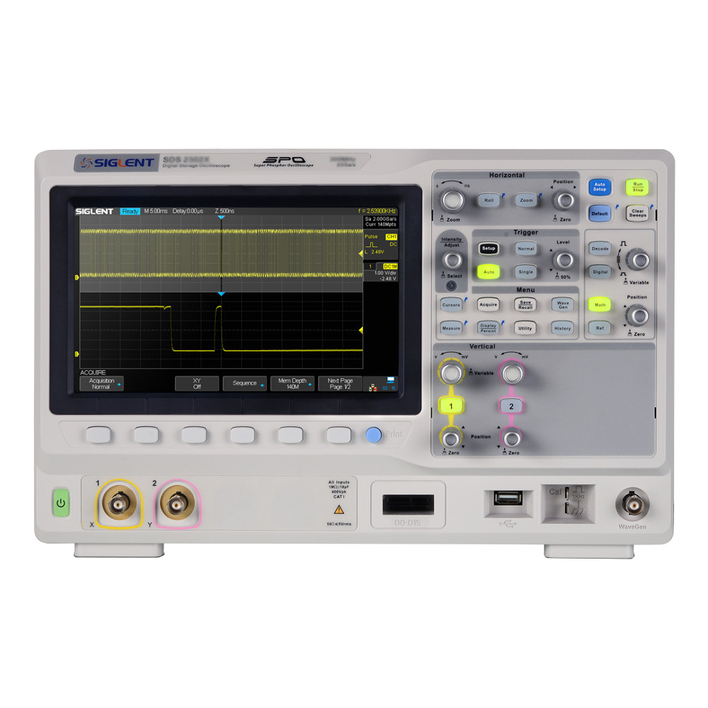 300MHZ;4 CHANNELS; 2GSA/S; 140MPTS MEMORY DEPTH; 140,000WFM/S WAVEFORM CAPTURE RATE;