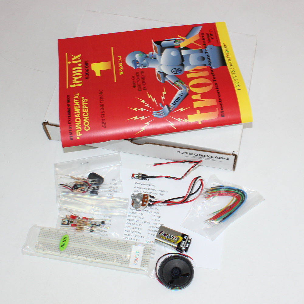Fundamentals Of Electronics LAB #1 (40 in One Kit)