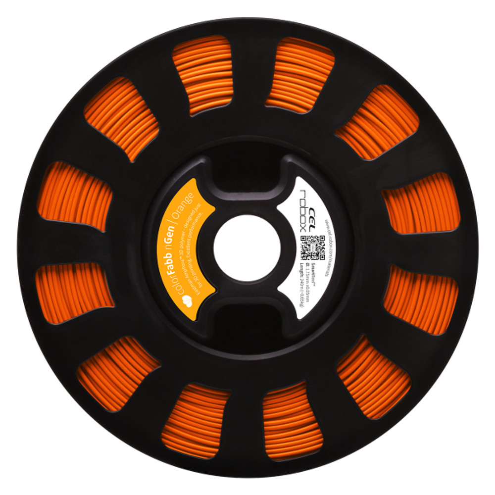 ColorFabb nGen filament in Orange - RBX-PET-NGOR1