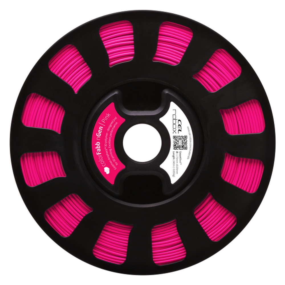 ColorFabb nGen filament in Pink - RBX-PET-NGPK1