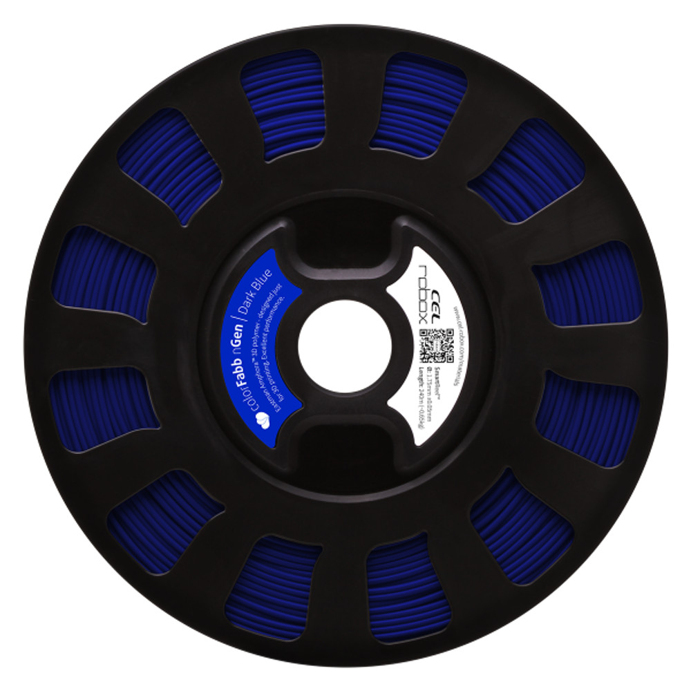 ColorFabb nGen filament in Dark Blue - RBX-PET-NGBL1