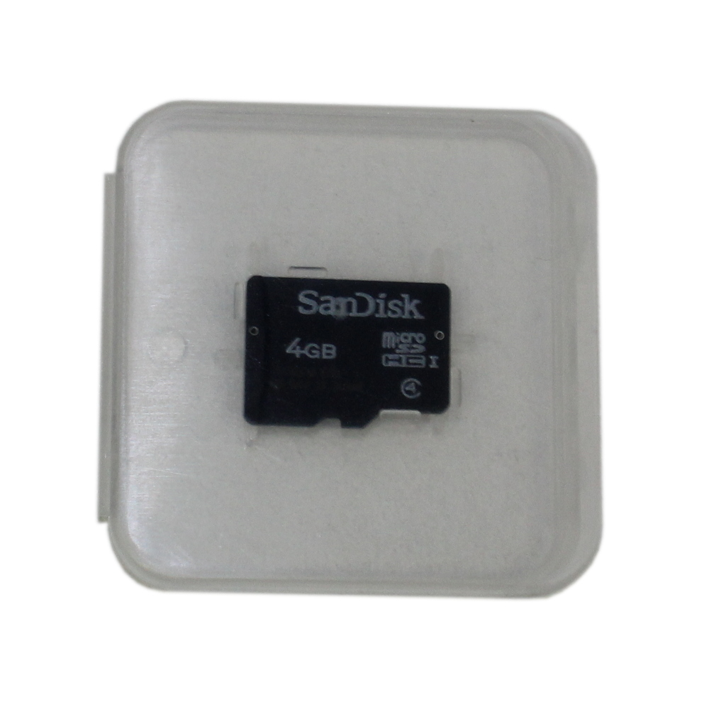 4GB Micro SD memory card from Sandisk