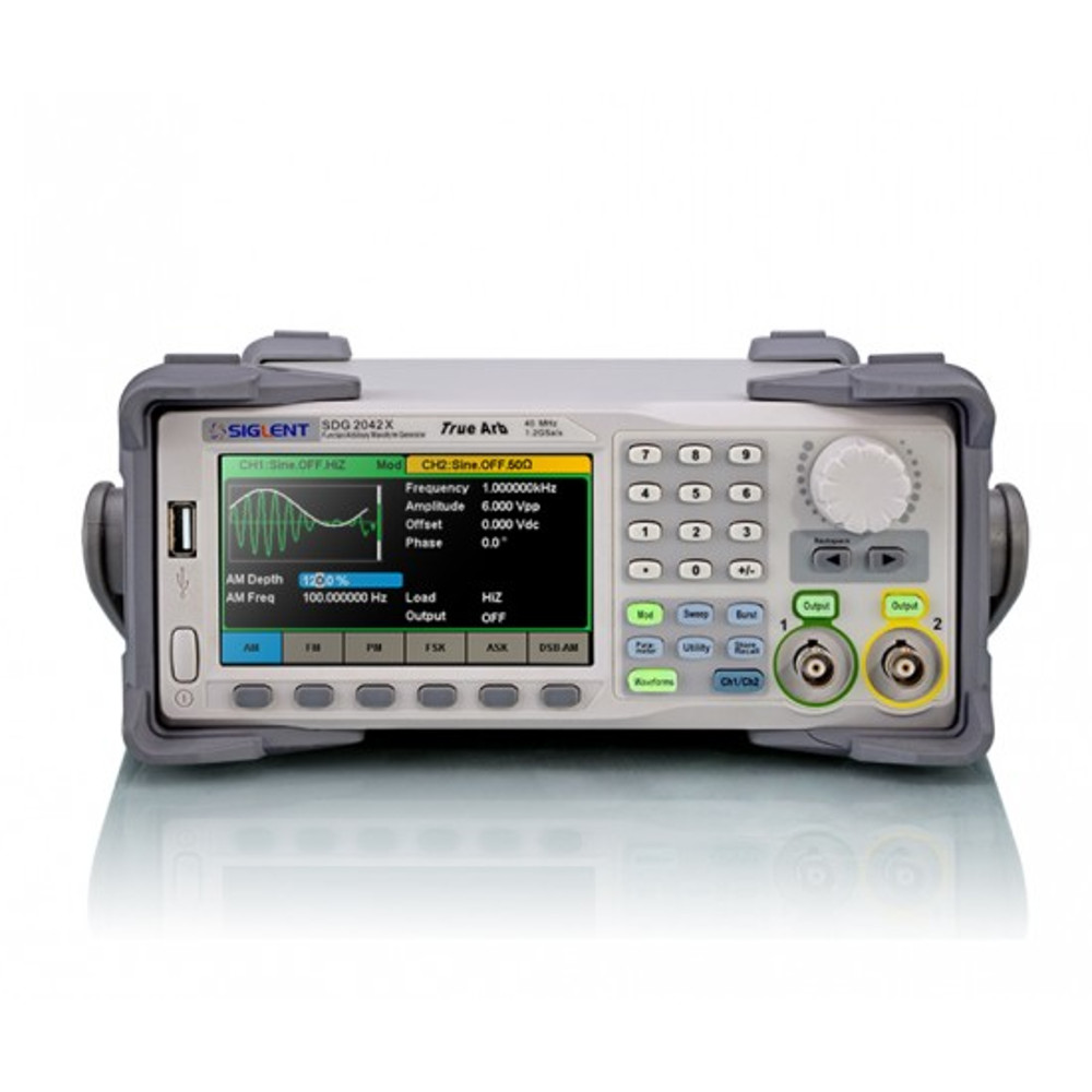 40MHZ; 2 CHANNELS; 1.2GSA/S; WAVE LENGTH: 8PTS-8MPTS FUNCTION/ARBITRARY WAVEFORM OUTPUT; EASYPULSE TECHNOLOGY  AMPLITUDE: