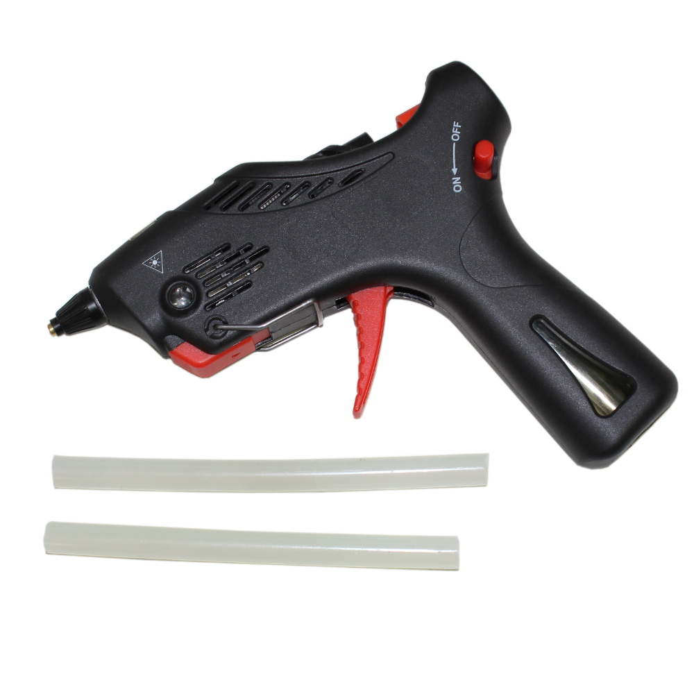 Butane Glue Gun with Two Glue Sticks