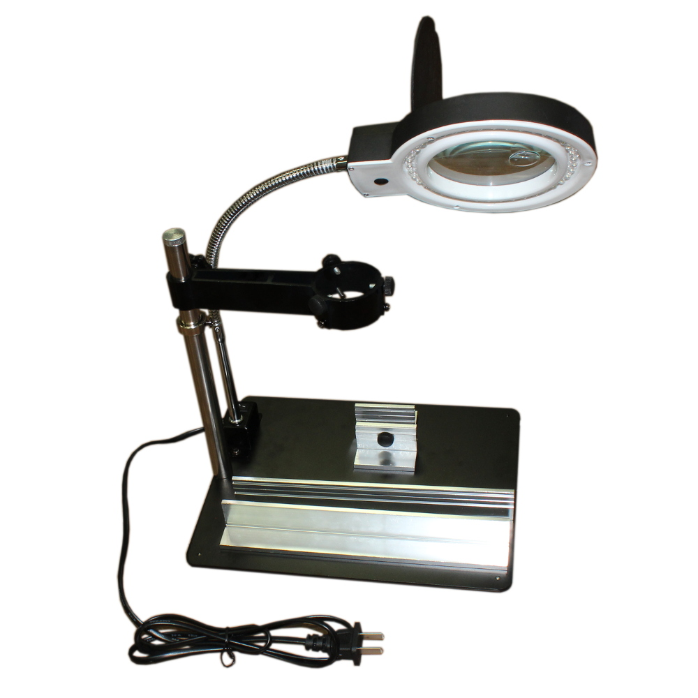 Multifunction Repair Platform with LED Lighting and Magnifier