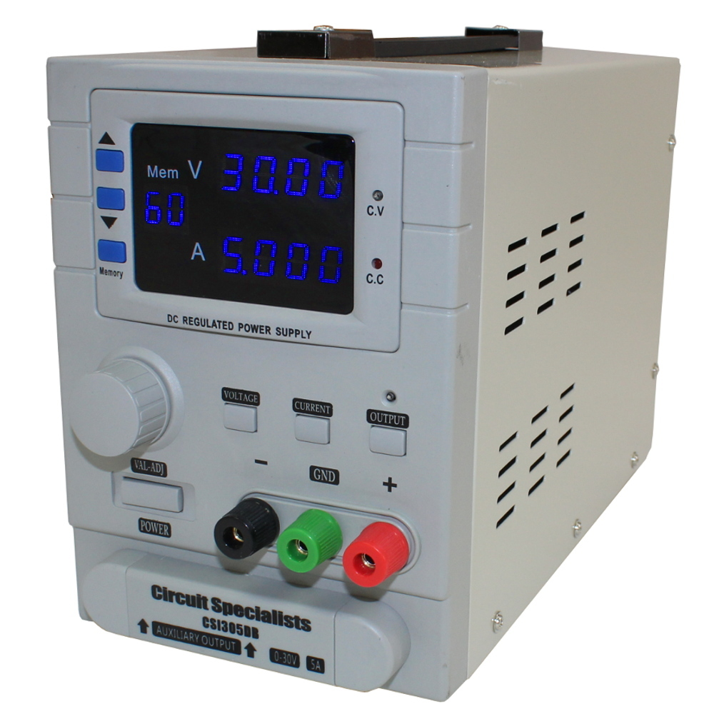 0-30VDC,0-5A BENCHTOP POWER SUPPLY WITH MEMORY