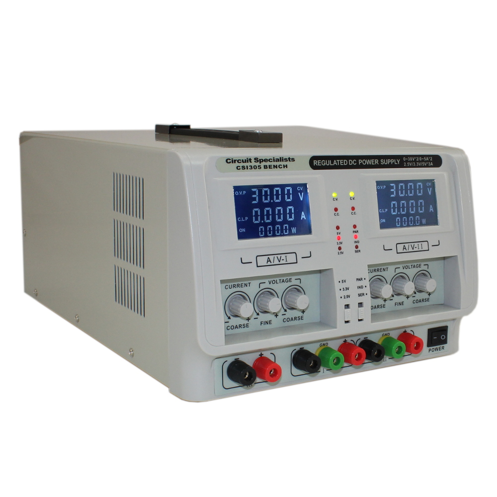 Benchtop Power Supplies | Fixed, Adjustable & Programmable