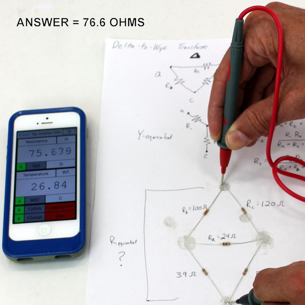Mooshimeter Wireless Multimeter For iPhone and Android Devices