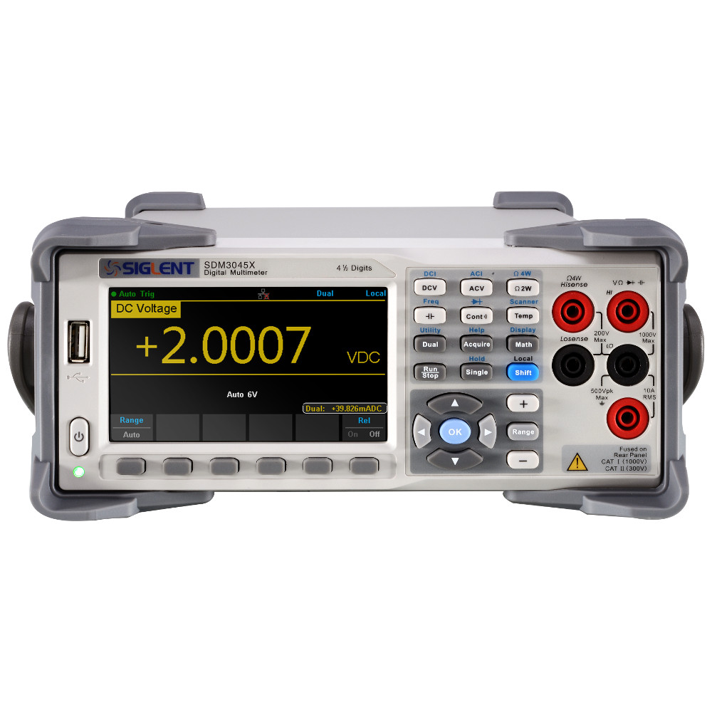4- DIGIT DUAL-DISPLAY DIGITAL MULTIMETER