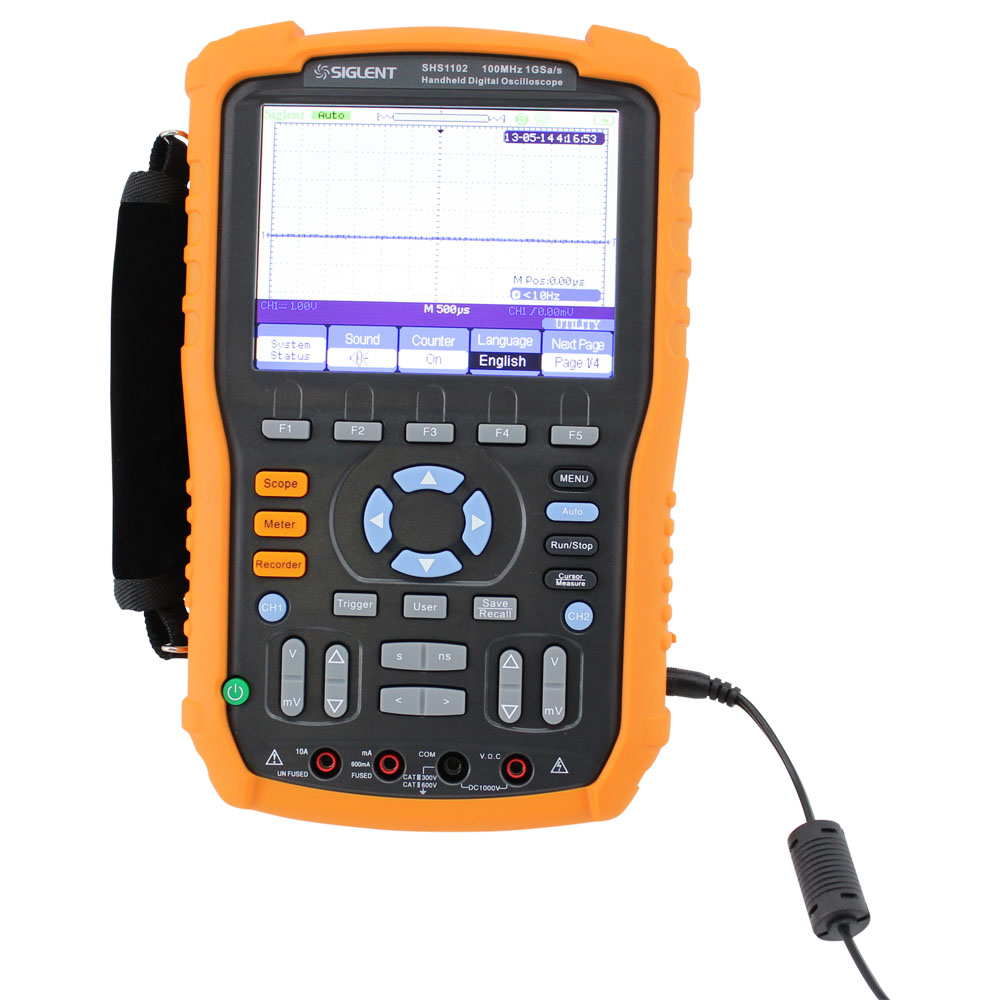 Siglent 60MHz High Isolation Handheld Oscilloscope with DMM Functions