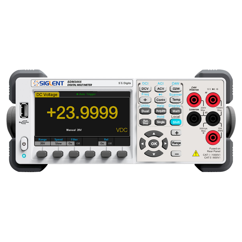 5 1/2 DIGIT DUAL-DISPLAY DIGITAL MULTIMETER