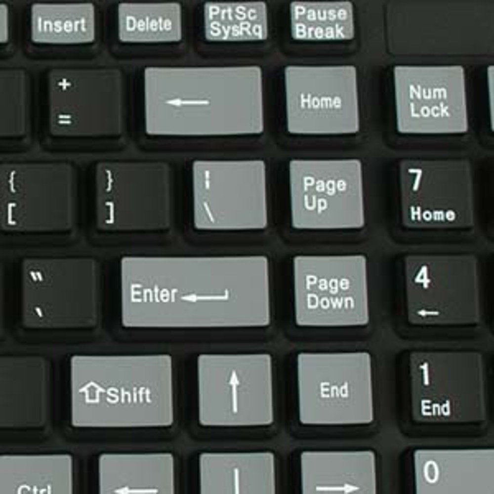 Flexible USB PC Keyboard