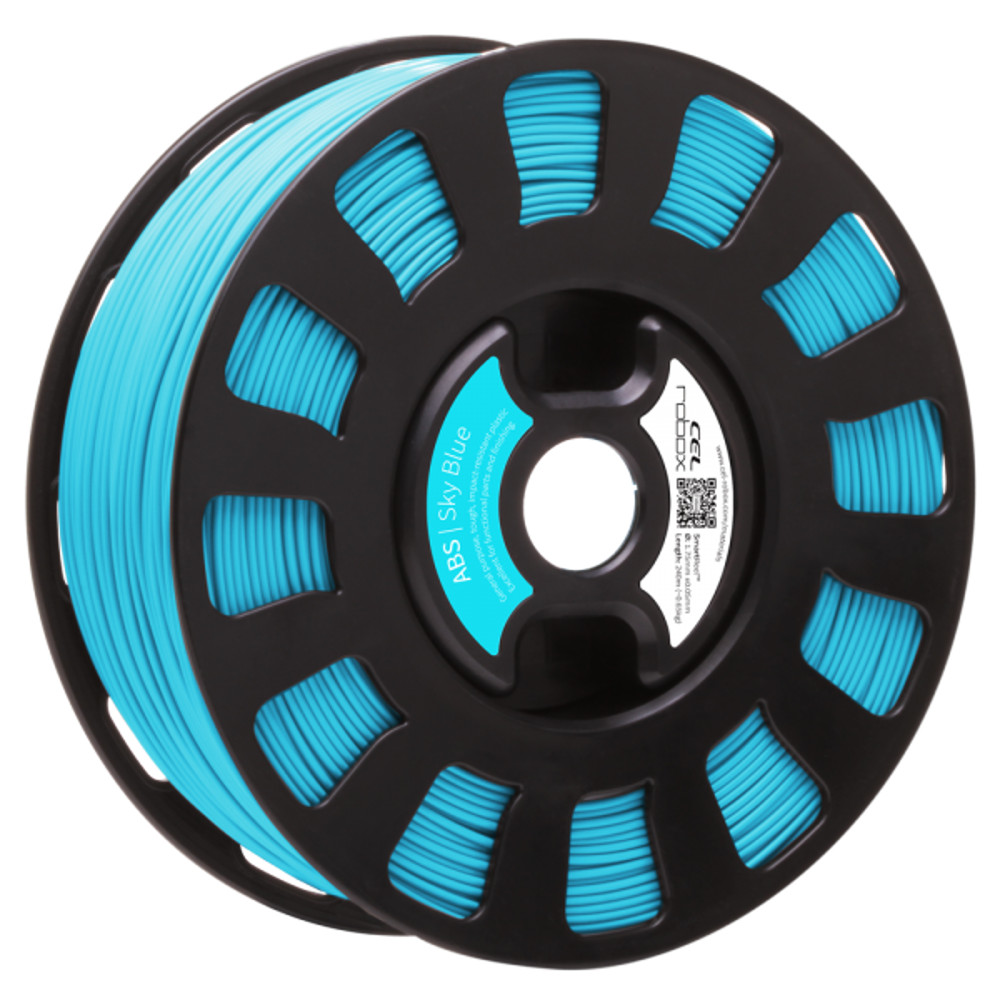 ABS SKY BLUE FILAMENT FOR ROBOX 3D PRINTER
