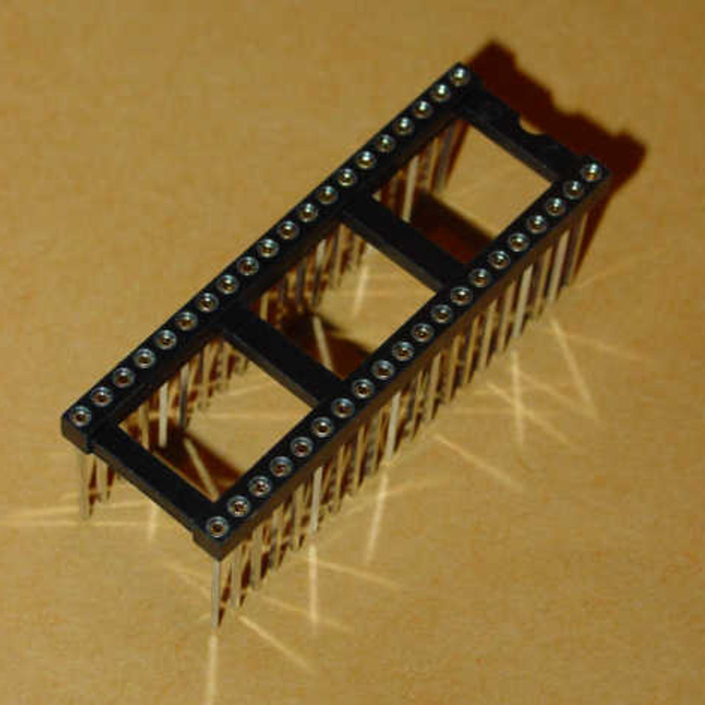 40 Pin Wire Wrap IC Socket