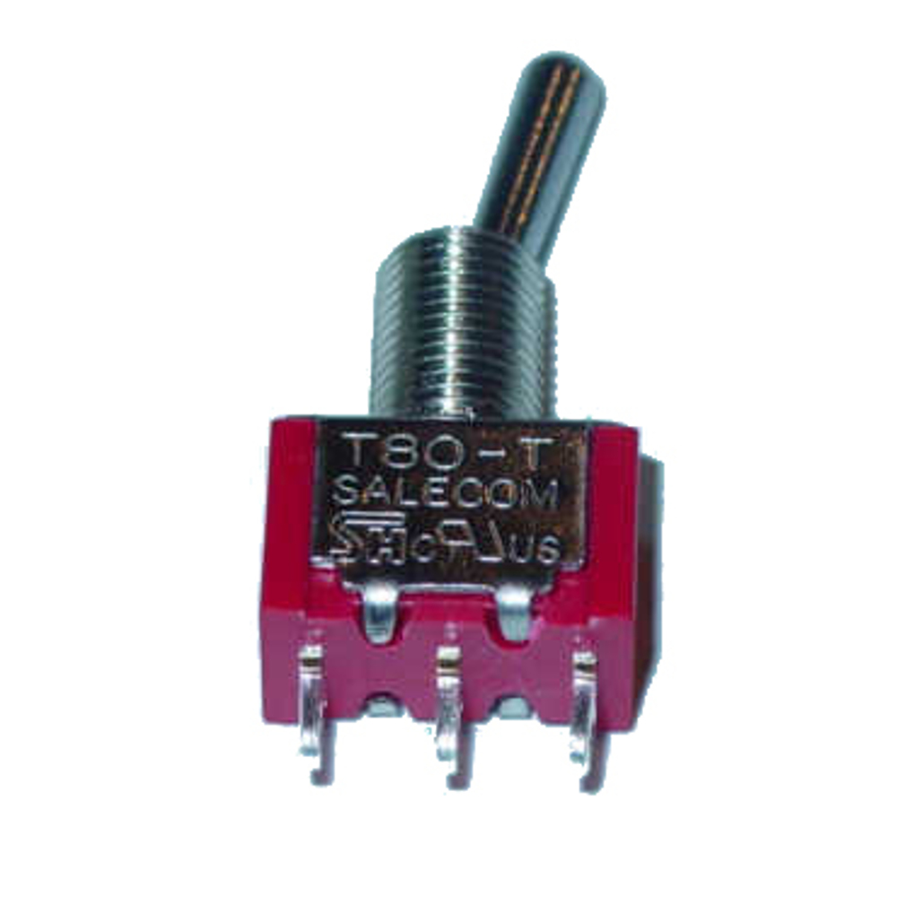 SPDT ON OFF ON Miniature Toggle Switch