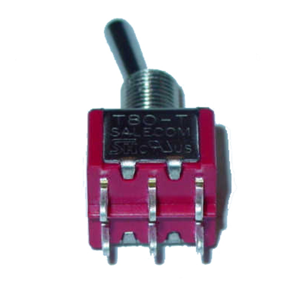 ON NONE ON DPDT Miniature Toggle Switch
