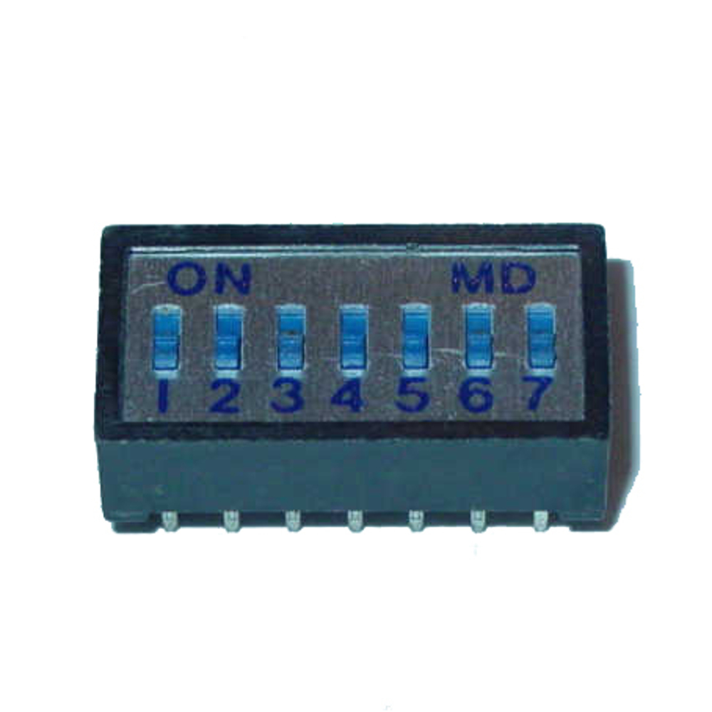 7 Pole Box Type Dip Switch