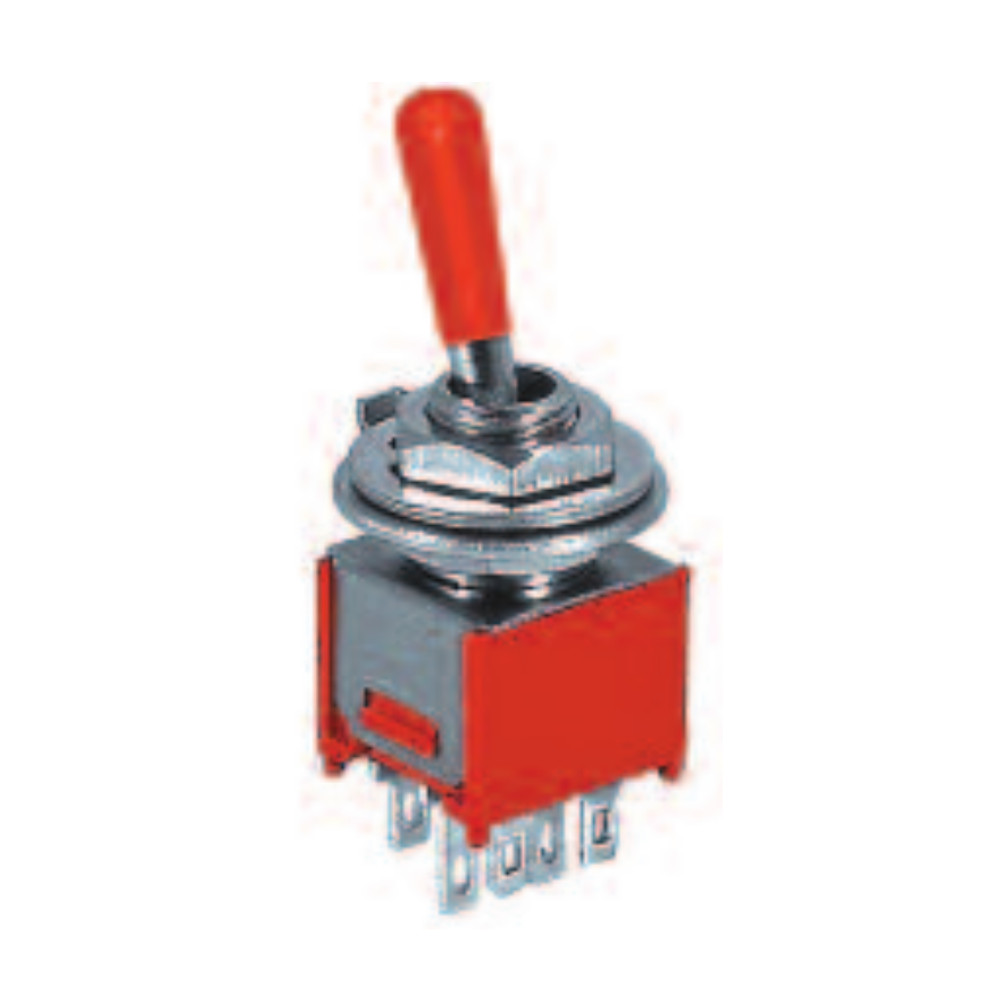 6P ON-OFF-ON/DPDT Sub-Mini Toggle Switch