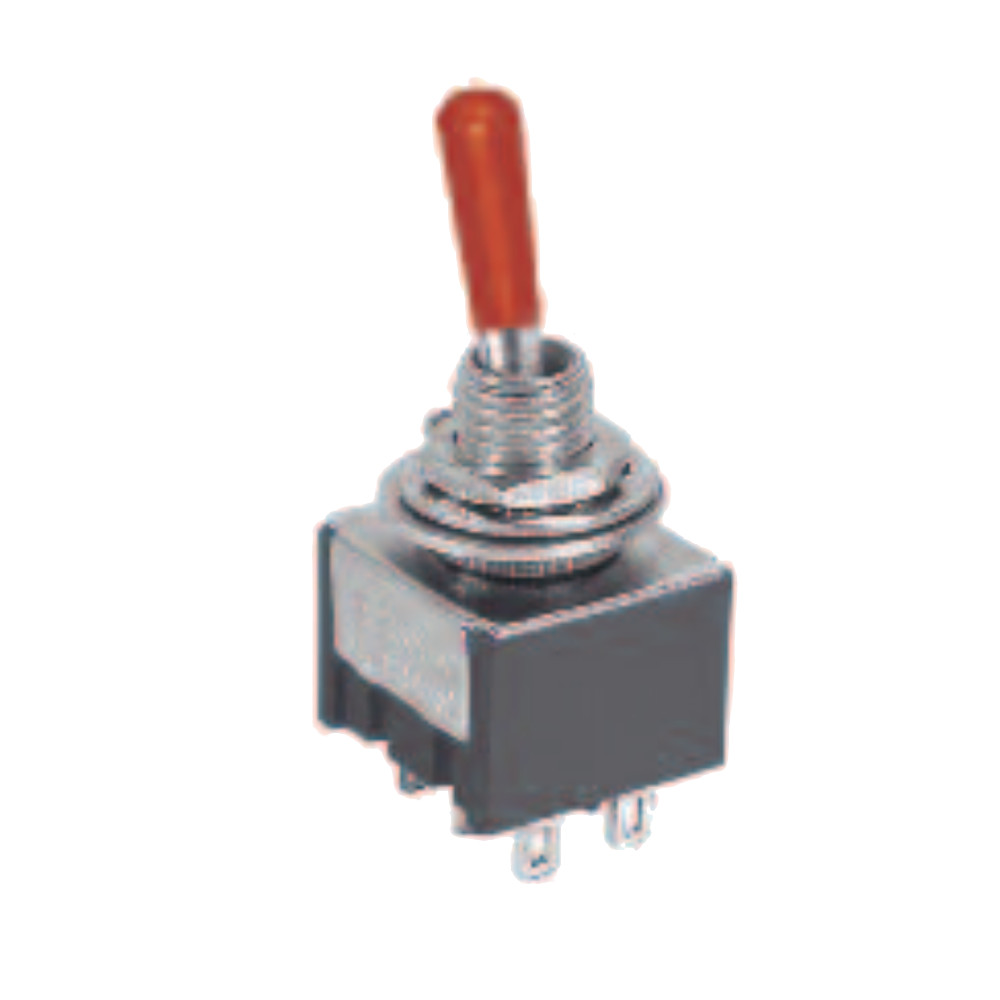 6P ON-ON/SPDT Mini Toggle Switch