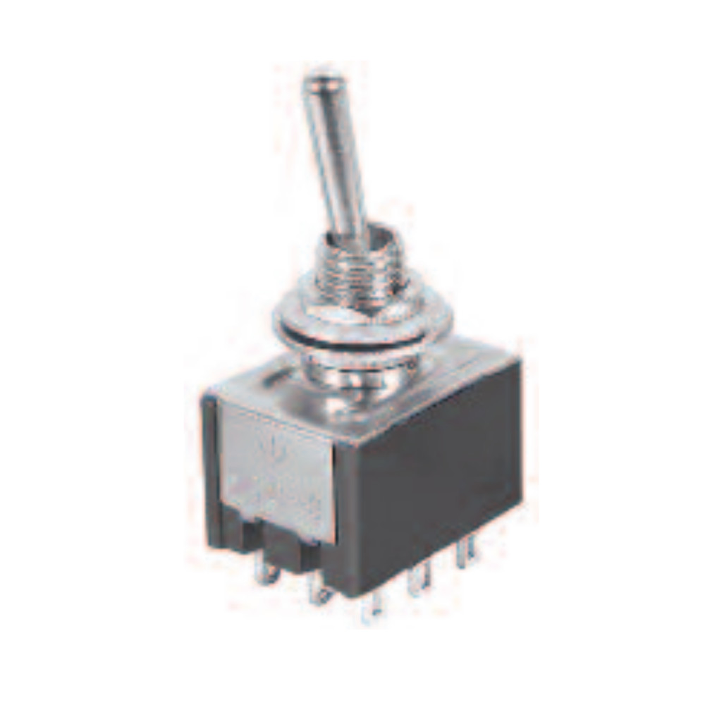 9P ON-ON/3PDT Mini Toggle Switch