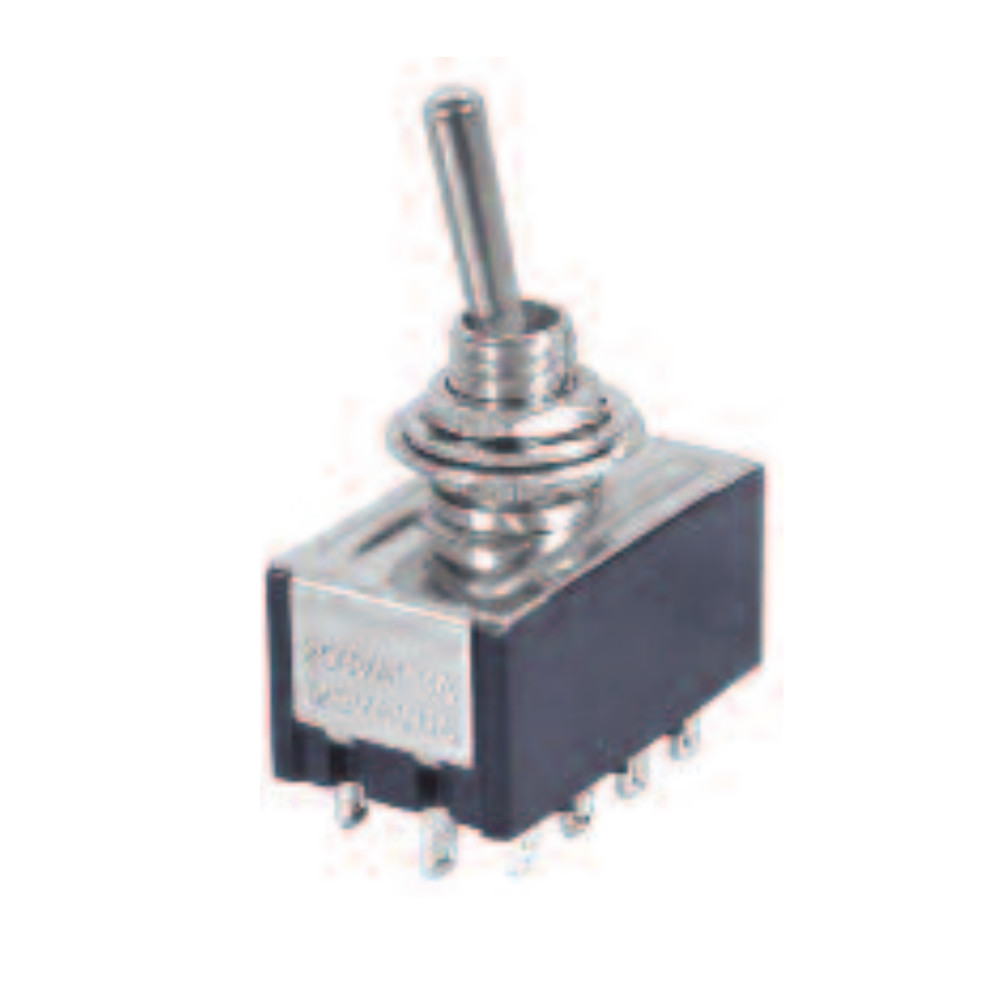 12P ON-ON/4PDT Mini Toggle Switch