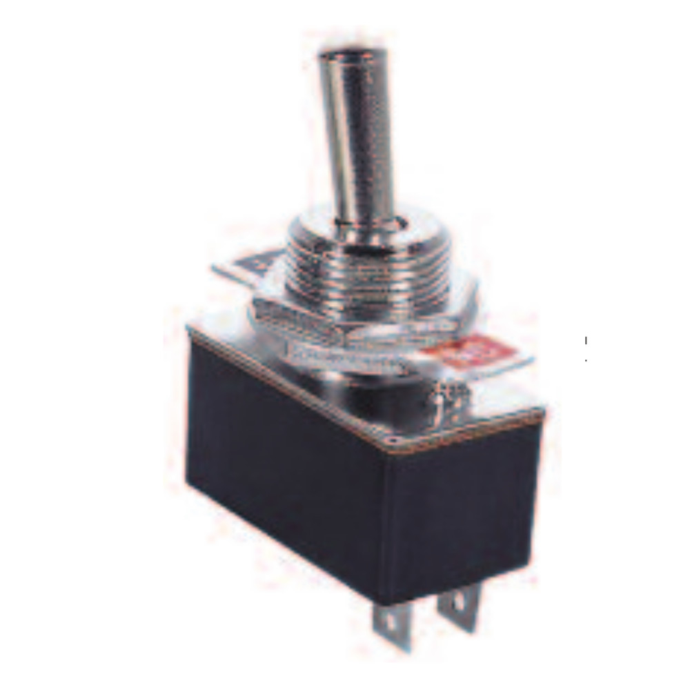 2P ON-OFF/SPST Standard Duty Toggle Switch