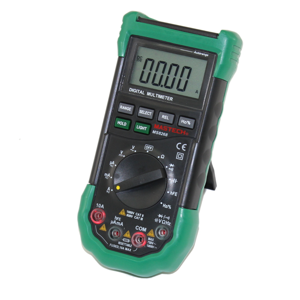 AUTO-RANGING, TRUE-RMS DIGITAL MULTIMETER