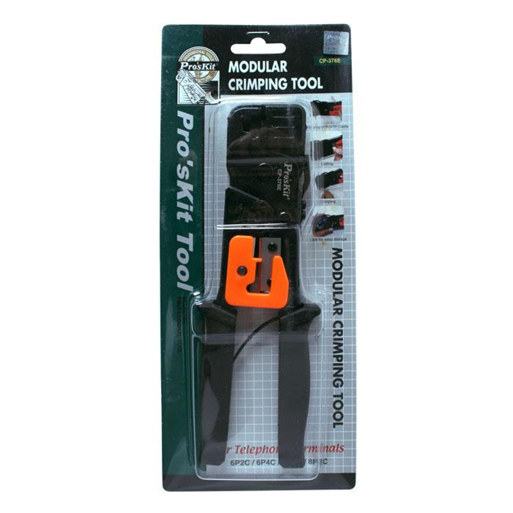 Non-Ratcheted RJ45 Crimper