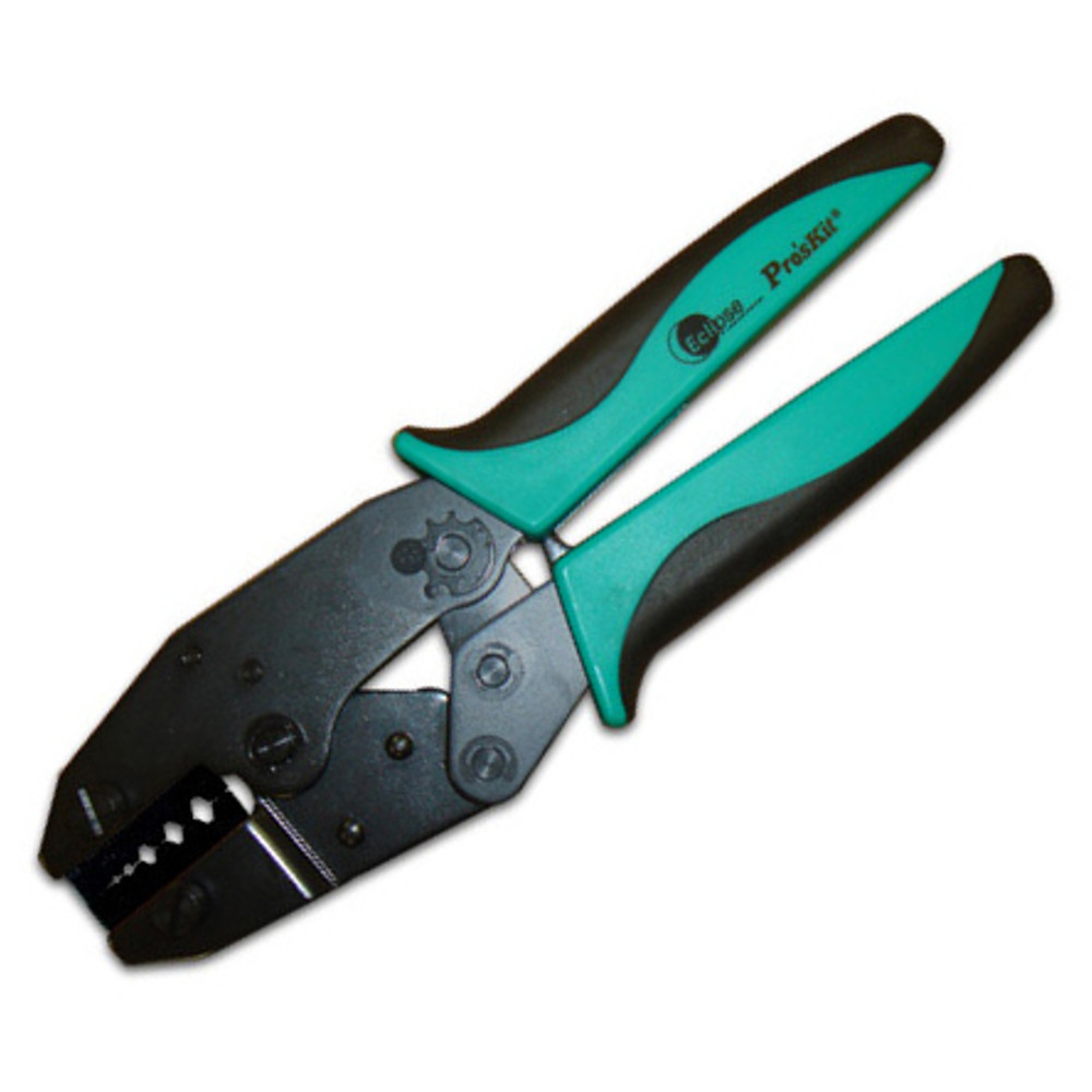 CRIMPER, RATCHETED, COAX..RG-58,174...215, .178, .068, .042