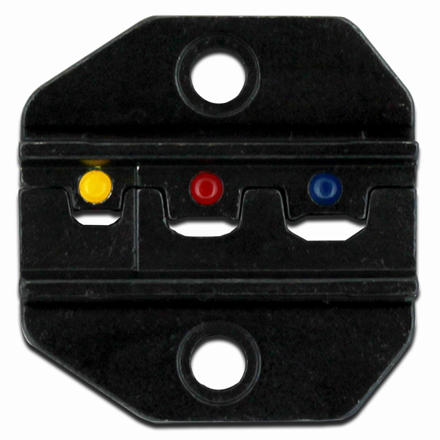 LUNAR SERIES DIE SET - MINIATURE INSULATED TERMINALS  AWG 26-16..RED/BLUE/YELLOW