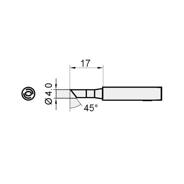 4.0mm Replacement Tip for SS206E & SS207E