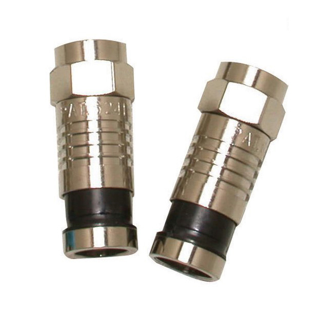 F CONNECTOR FOR RG59/U - 50 PK
