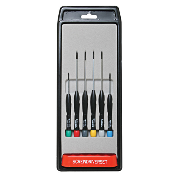 6 Pc. Screwdriver Set for Electronics