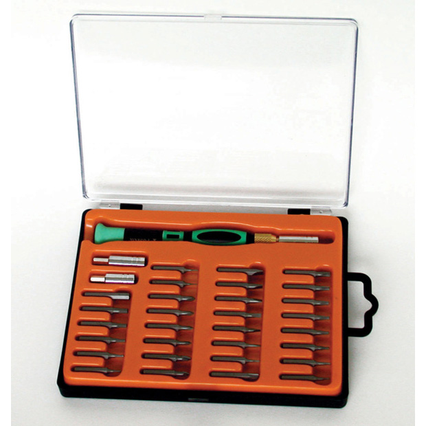 33 pc screwdriver set - w/interchangeable bits