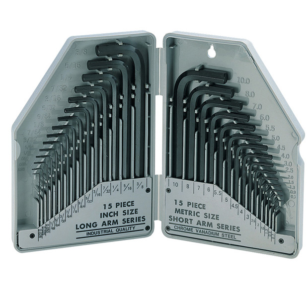 HEX KEY SET - US AND METRIC