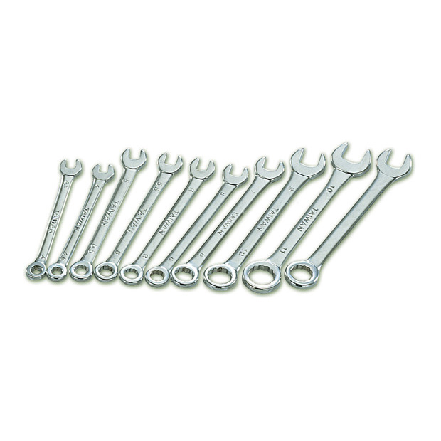 Mini-Wrench Set, 5/32 to 7/16 inch