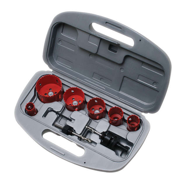 HOLE SAW KIT - 9 PC..7/8