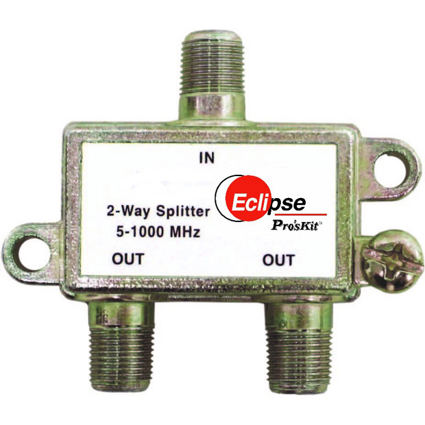 2 Way CATV Splitter 5-1000 MHz