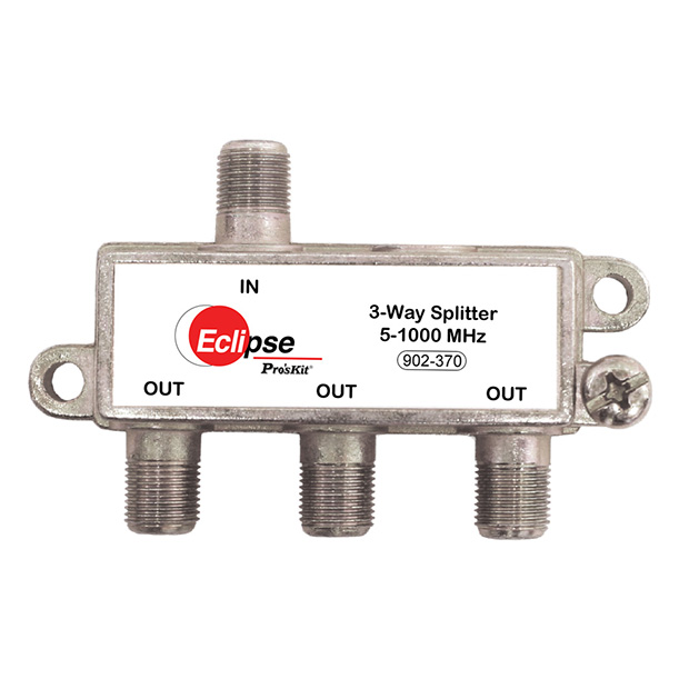 3 WAY CATV SPLITTER 5-1000 MHZ