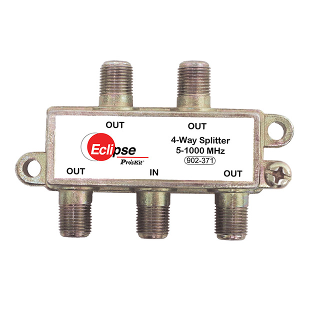 4 WAY CATV SPLITTER 5-1000 MHZ
