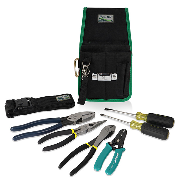 8 PC ELECTRICIAN TOOL KIT