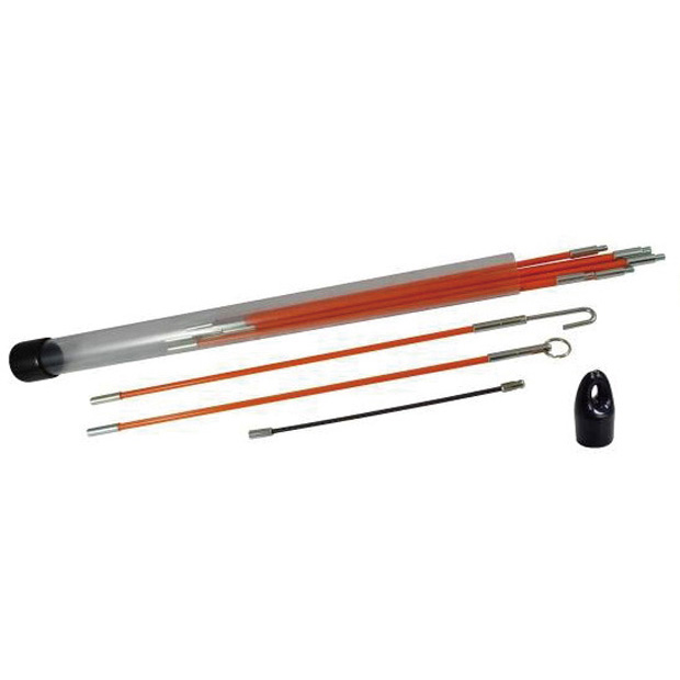 Push Pull Rod Set with Accessories in a clear tube (10 sections per tube)