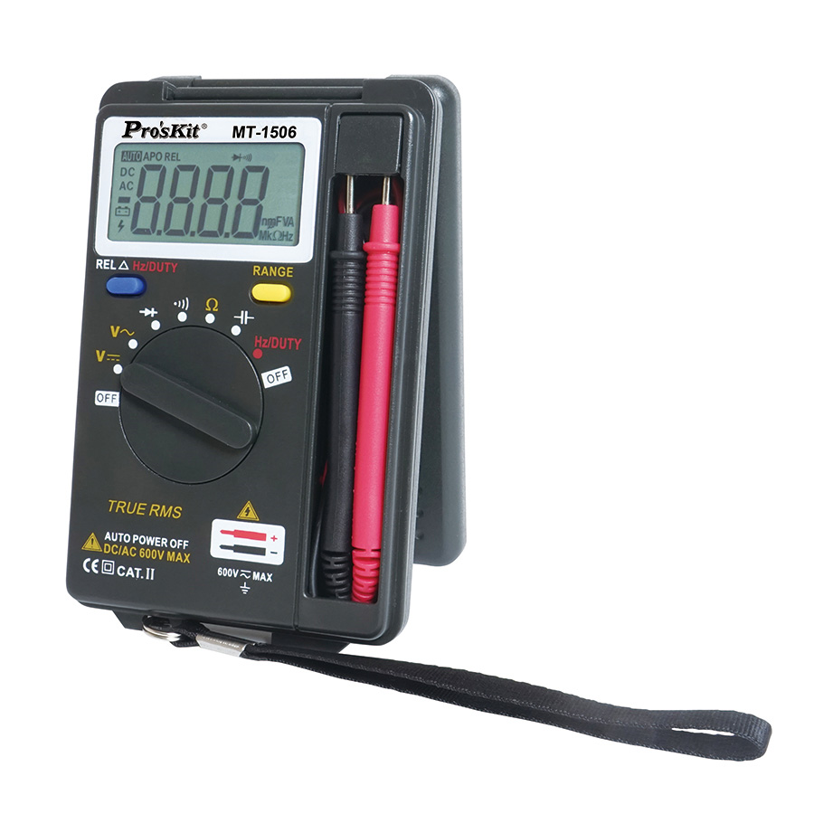 POCKET TRUE RMS AUTO RANGE MULTIMETER