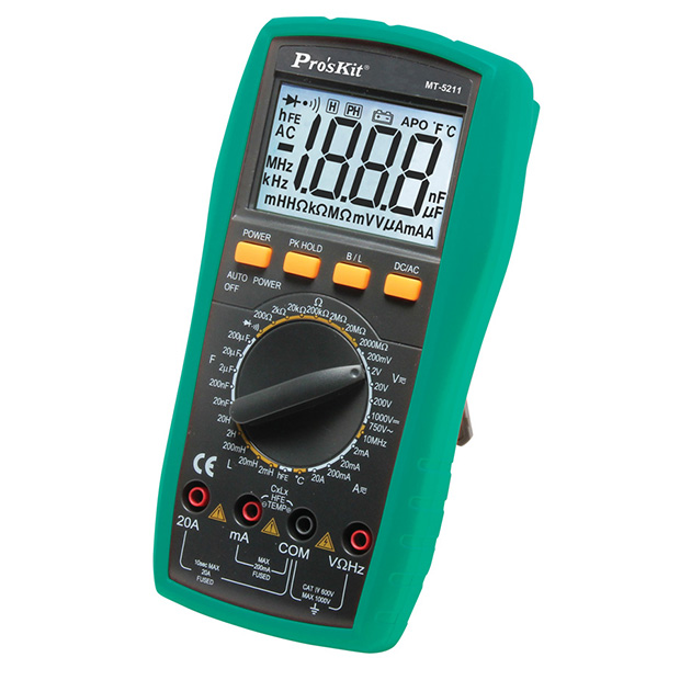 Multimeter, Professional Grade Digital