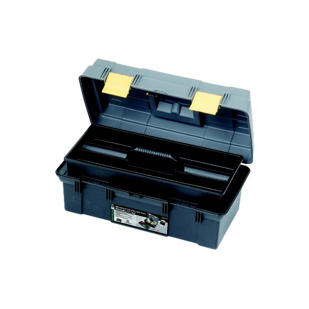 MULTI-FUNCTION TOOL BOX WITH REMOVABLE TOTE TRAY