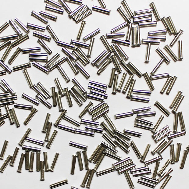 Wire Ferrule, uninsulated, AWG 16, 10 mm Long, 1000 per bag