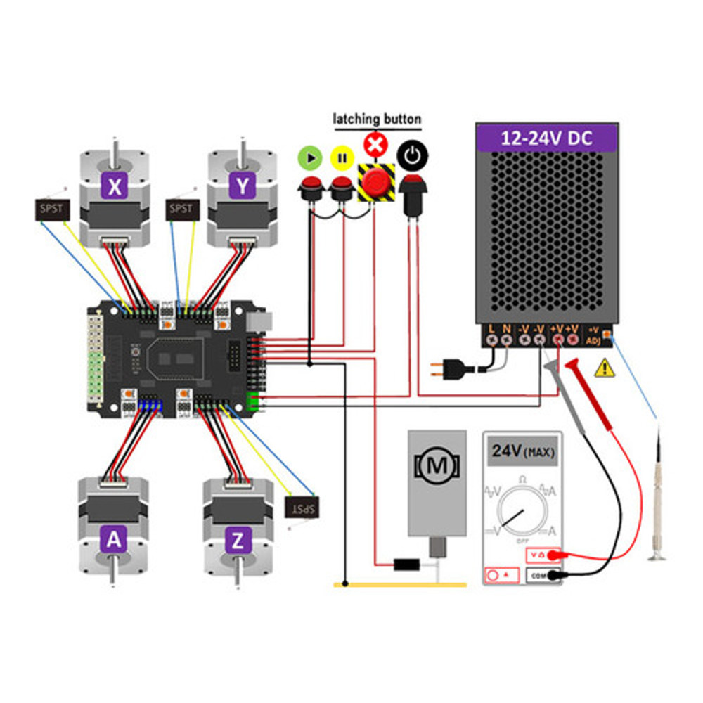 Cnc Xpro Controller V3 Atx Power Supply Schematic Diagram